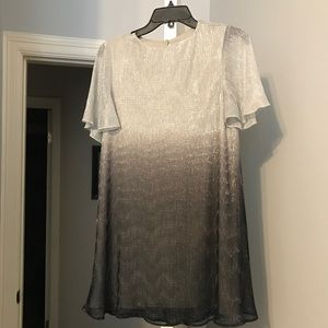 NWOT Show Me Your Mumu Silver/Black Ombré Dress